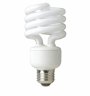 TCP - 23W - 27K - Springlamp - 3 Pack - Spring Light Compact Fluorescent Light Bulb - 8010233