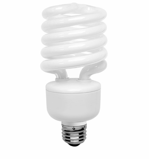 TCP 28027MSS41K Mini Springlamp Compact Fluorescent Light Bulb