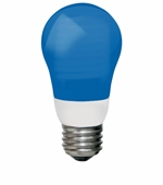 TCP 3W Cold Cathode A Shape Blue Light Bulb - 8A03BL