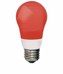 TCP 5W Cold Cathode A Shape Red Light Bulb - 8A05RD