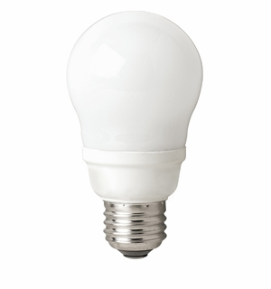 TCP - 9W - 27K - A Lamp - 2 Pack - Spring Light Compact Fluorescent Light Bulb - 8070092