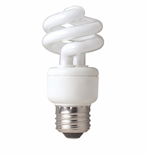 TCP - 9W - 41K - Springlamp - Mini Spring Light Compact Fluorescent Light Bulb - 80100941