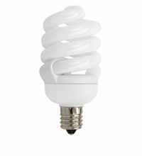 TCP CFL 13W Full Springlamp Candel 35K Light Bulb - 48913C35K