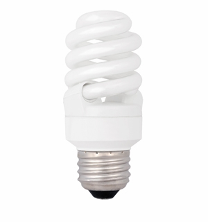 TCP CFL 13W T2 Full Springlamp 35K Light Bulb – 4T21335K