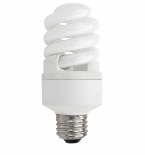 TCP CFL 14W Dimmable 35K Light Bulb 4011435K