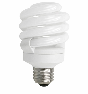 TCP CFL 18W Full Springlamp 30K Light Bulb – 4891830K