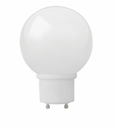 TCP CFL 19W - G40 GLOBE - GU24 BASE - Covered Lamp - 33119G40