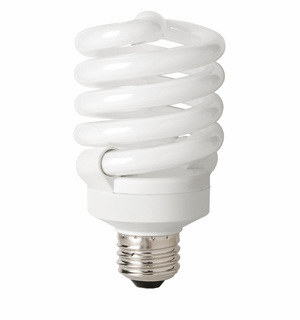 TCP CFL 23W Full Springlamp 30K Light Bulb – 4892330K