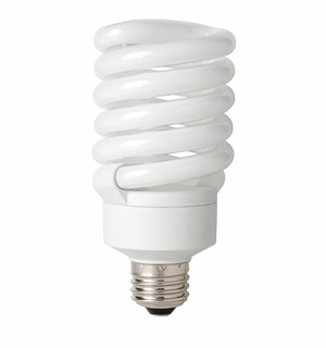 TCP CFL 27W Full Springlamp 65K Light Bulb – 4892765K
