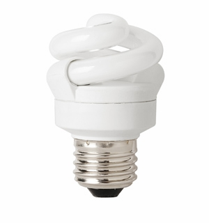TCP CFL 5 Watt Full Springlamp 50K Light Bulb - 4890550K