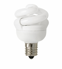 TCP CFL 5W Full Springlamp 41K Candel Light Bulb - 48905C41K