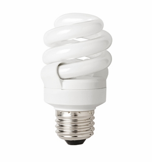 TCP CFL 9W Full Springlamp 65K Light Bulb – 4890965K