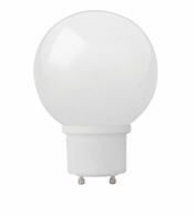 TCP CFL19W - G30 GLOBE - GU24 BASE - Covered Lamp - 33119G30