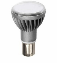 TCP Frosted LED 2W 3000K 1383 Replacement, White Light Bulb