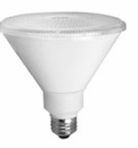 17W LED Elite Series Non Dimmable  30K Par38 Light Bulb - TCP Brand