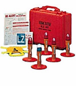 TEKTITE - Helicopter Landing Zone Light Kit - ELZ-9100-8 - Portable Heliport Runway Lights
