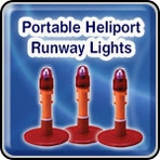 Portable Heliport Runway Lights