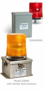 Tomar Power Strobes - 3200HP - Industrial Heavy Duty Strobe Beacon Light
