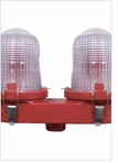 TWR LED Obstruction Lighting - OL2 Cast LED FAA Type L-810 - 48 VDC