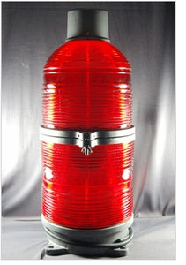 TWR Lighting -  Obstruction Lighting 300 mm Beacon FAA Type L-864 Red Incandescent Lighting System 120V