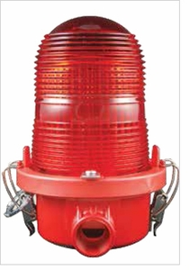 TWR Lighting -  Obstruction Lighting OL1V (Valox) FAA Type L-810 Red Incandescent Lighting Systems 240V