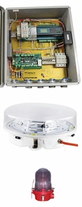 TWR Obstruction Lighting Medium Intensity Strobe System - L550-864-865 with Integrated Monitoring