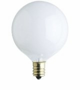 Westinghouse 15G16½/W/CB - G16½ Incandescent Light Bulb