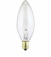 Westinghouse 40B9½/FAN/CB/CD2 Torpedo Candelabra Base Incandescent Light Bulb