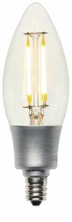 Westinghouse 5 Watt Candelabra Base Torpedo Dimmable Filament LED Light Bulb – 03168