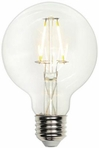 Westinghouse 5 Watt G25 Globe Medium Base Dimmable Filament LED Light Bulb –  03172