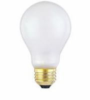 Westinghouse 60A/TS/130 - A19 Toughshell Incandescent Light Bulb