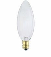 Westinghouse 60B10/F/CB/CD2 Torpedo Candelabra Base Incandescent Light Bulb