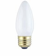 Westinghouse 60B11/W/CD2 Torpedo Standard Base Incandescent Light Bulb