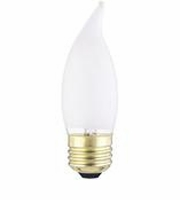 Westinghouse 60CA10/F Flame Tip Standard Base Incandescent Light Bulb