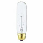 Westinghouse 60T10/CD - T10 Specialty Incandescent Light Bulb
