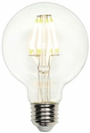 Westinghouse 7.5 Watt G25 Globe Medium Base Dimmable Filament LED Light Bulb –  03173