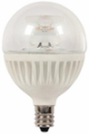 Westinghouse 7 Watt Globe Candelabra Base Dimmable LED Light Bulb – 03213