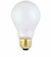 Westinghouse 75A/TS/130 - A19 Toughshell Incandescent Light Bulb