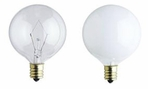 Westinghouse G12½ & G16½ & G19½ Incandescent Light Bulbs