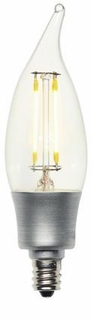 Westinghouse LED 5W Decorative CA10 Flame Tip Dimmable Filament LED Light Bulb