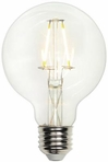 Westinghouse LED 5W G25 Globe Dimmable Filament LED Light Bulb