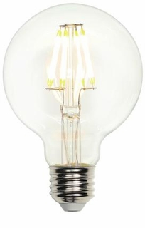 Westinghouse LED 7-1/2W G25 Globe Dimmable Filament LED Light Bulb