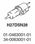 Whelen Replacement Bulb - H27DSN28