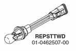 Whelen DOT3 100/200 Series Brake / Tail / Turn bulb Assembly - REPSTTWD