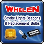 Whelen Strobe Lights, Beacons & Whelen Replacement Light Bulbs