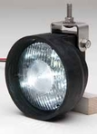 Whelen Super LED Lighthead - PAR-36 With Rubber Housing - P36SLCHG