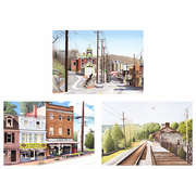Ellicott City Assortment, 6 Notecards and Envelopes