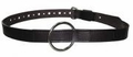"Boston Leather 1-1/2"" Garrison Style Restraint Leather Belt"