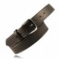"Boston Leather 1-1/2"" Off Duty Leather Belt w/ Extra Layer of Leather Lining"