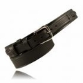 "Boston Leather 1-1/2"" Ranger Leather Belt w/ Extra Layer of Leather Lining"